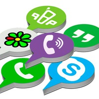 WhatsApp и  Viber и Icq